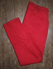 Old Navy Rockstar Size 10 Women's Curry Red Low Rise Skinny Jeans