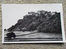 MINISTRY OF WORKS REAL PHOTO.POSTCARD STIRLING CASTLE.FROM THE WEST.NOT POSTED