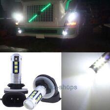 2x White Fog Light 30SMD LED Replacement Bulb 881 896 For Volvo VNL VN 2003-2015