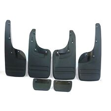 Mudflaps Mudguards Set (Front & Rear)For Toyota Hilux Revo MK8 2016-2017