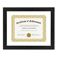 Betus Elegance Wood Certificate Frame 11x14 inch Documents Diplomas Degrees