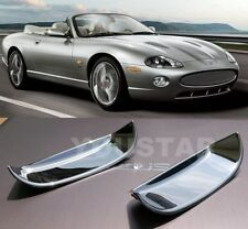 UK STOCK x2 CHROME Door Handle Cups Bucket Covers for JAGUAR XK XK8 XKR 96-05