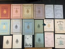 Psi Upsilon Fraternity Yale University 1800s Ephemera Collection