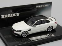 MINICHAMPS 1:43 Brabus 600 auf basis Mercedes AMG C 63 S, white, 2015