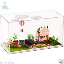 DIY Handcraft Miniature Project Around World Balloon Trip Wooden Dolls House