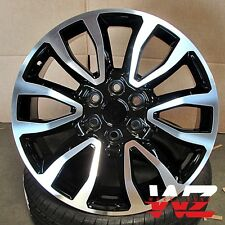 "20"" Raptor Style Wheels Black Machined fits Ford F150 Lincoln Navigator 6x135"