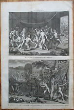 Picart Ceremony Indians Panama Folio - 1732