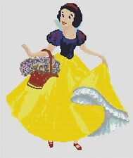 Snow White 1 Counted Cross Stitch Kit Disney characters/Tv/Film