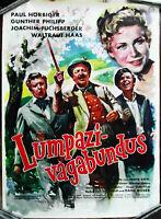Filmplakat Lumpazivagabundus Paul Hörbiger Joachim Fuchsberger  -  (gerollt) A1