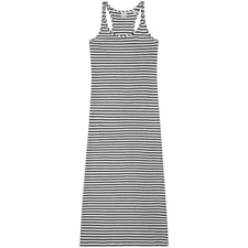O'Neill Women's Racerback Jersey Dress White Black