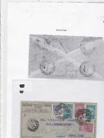 Brazil 1934 to buenos aires airmail stamps cover Ref 9635