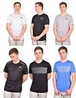 Mens Sports T-Shirts Skechers Fitness Workout Training Gym Activewear Top