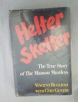 Helter Skelter Vincent Bugliosi Hardcover and dust jacket Edition First 1st