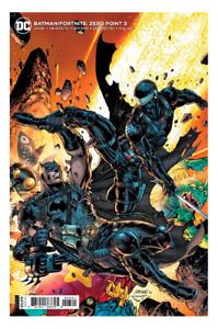 BATMAN FORTNITE ZERO POINT 3 JIM LEE  SEALED 1ST PRINT COVER B DC COMICS