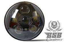 """LED SCHEINWERFER 5,75"""" mit Standlicht Harley Davidson FXSTB Night Train """"schwarz"""