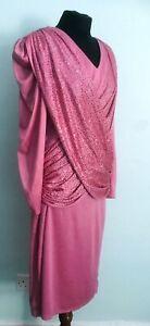 FABULOUS Vintage  1980s Sparkle Cocktail Dress  S / M