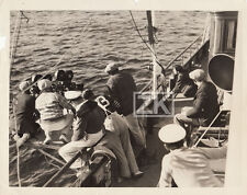 SPITE MARRIAGE Le Figurant Buster KEATON Camera Tournage YACHT Photo 1929