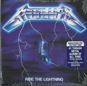 Metallica Ride the Lightning CD. Brand New and Sealed. DigiPak.