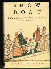 SHOWBOAT by EDNA FERBER, PRISTINE 1st EDITION 1926. UNOPENED & UNREAD