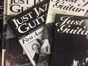 Just Jazz Guitar Magazine OOP