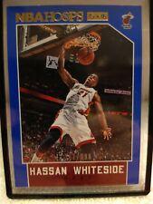 2015-16 NBA HOOPS Hassan Whiteside Blue 277/399. Card 141