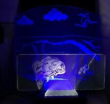 Large Mouth Bass, LED Desktop/Bar Lamp