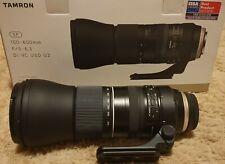 Tamron SP 150-600mm f/5.0-6.3 Di VC USD Lens. EXCELLENT CONDITION.