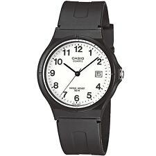 Casio Unisexuhr MW-59-7B Armbanduhr Herren Damen Schwarz Datum black NEU & OVP