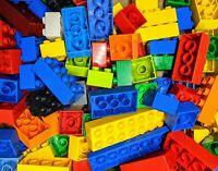 500g Lego DUPLO bag Mixed blocks 1/2kg Bundle GOOD CLEAN CONDTION BRICKS