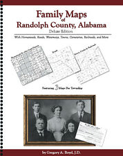 Family Maps Randolph County Alabama Genealogy AL Plat