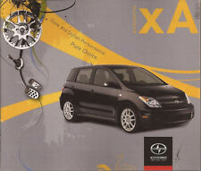 2006 06 Scion XA  Accessories  Sales brochure MINT