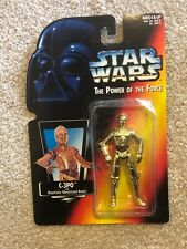 Kenner Star Wars The Power Of The Force C-3PO Realistic Metalized Body