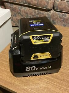 Kobalt 80v Max Battery (2 Ah) and Charger