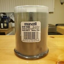 Maxell CD-RP 700 100pc Spindle (648710)