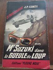 J.P. Conty: Mr Suzuki dans la gueule du loup / Fleuve Noir Espionnage N°520