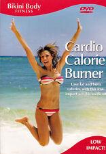 Bikini Body Fitness - Cardio Calorie Burner - Lose Fat Low Impact - New DVD