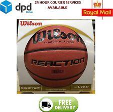 "Wilson Reaction Basketball Performance Composite -Official 29.5"" Gameball NEW"