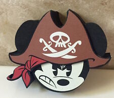 """DISNEY MICKEY MOUSE PIRATE CAR ANTENNA AERIAL TOPPER BALL -NEW """"o"""""""