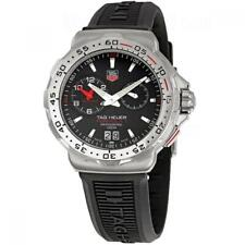 Tag Heuer WAH111C.BT0714 Formula 1 41MM Men's Black Rubber Watch