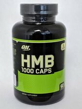 ON Optimum Nutrition HMB 1000 Hydroxy Methylbutyrate 90 Capsules Preserve Muscle