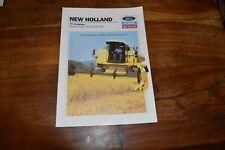 New Holland TC52 TC54 & TC56 Combine Brochure (9)