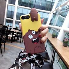 Cute 3D Cartoon Animals TPU Silicone Phone Case Cover For iPhone 6s 7 8 Plus