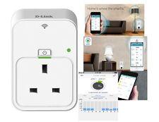 D-Link DSP-W215/B mydlink UK Home Smart Plug Control Electricity Remotely