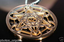 Metatrons Cube Pendant Clearing & Protection Sacred Geometric Symbol