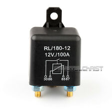 Car Auto Heavy Duty Split Charge DC 12V 100A 100 AMP SPST Relay 4 Pin 4P RL180