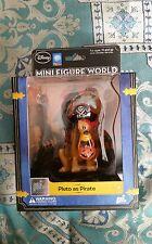 Disney Mini Figure World Pluto as Pirate pi.  Adult collectible