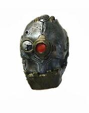 Iron Cyclops Mask Robot Cyborg Fancy Dress Halloween Adult Costume Accessory