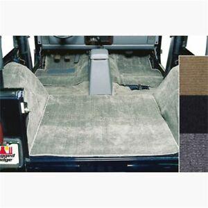 Rugged Ridge 13690.09 Deluxe Carpet Kit Deluxe Gray For 87-95 Jeep Wrangler NEW