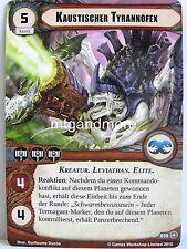 Warhammer 40000 Conquest LCG - 1x #039 Kaustischer Tyrannofex - Unverziehen