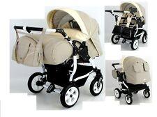 TWINS DUO STARS ADBOR 2in1  Zwillingswagen Kombikinderwagen Kinderwagen;